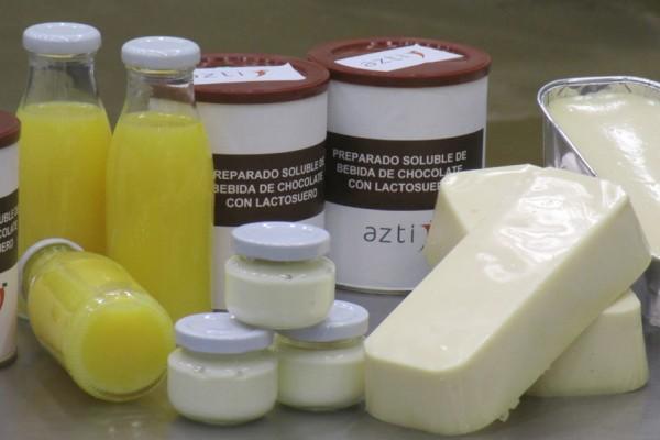 Logran aprovechar más del 80% del lactosuero de las queserías vascas